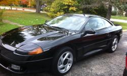 Price reduced for quick sale. Many new parts. 1992 Dodge Stealth R/T Twin Turbo, All Wheel Drive, V-6, 325 hp, 5 speed manual, all original, no wrecks. New Borla cat back exhaust, new air conditioning, new factory installed transmission, transfer case and