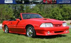 1992 FORD MUSTANG CONVERTIBLE OVER $50,000 Invested on top of Purchase of the car! FULL DOCUMENTATION AND STACKS OF FOLDERS WITH ALL RECEIPTS AND PAPERWORK!! engine: 347 ci Sportsman Block Probe Industries O Ringed Head Studs with Graphite Head Gaskets