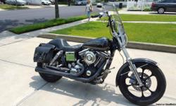 Custom 1992 Harley Davidson Daytona DynaGlide limited to only 1700 made worldwide! As you can see from the pictures, this is bike number 398. This bike is chromed to the max! Everything is chromed out as you can see in the photos! Whatever isnt
