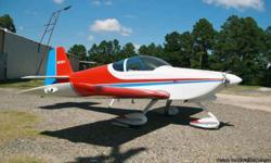 1992 Vans RV6A Airplane, TT237.2, New Condition, Single Engine Piston, 2 seats, 237 Hours, G150 GPS/com, Navaid single excess autopilot coupled to GPS, Lycoming O-320-D1A TT 237.2,Sensenich 76EM8510-0-63 s/n 24956K TT 237.2 Call -- Mena, AR $55,900.00