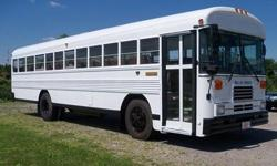 1993 BLUEBIRD 32 passenger PARTY BUS, Diesel, Auto, w/Limo interior for 32 psg., big 2 cooler bar, AM/FM/CD w/removable speakers for tailgating, All new paint, money maker. Miles 156,200 MAKE OFFER  For more information or pictures call