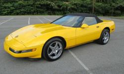 1993 CORVETTE CONVERTIBLE 53K MILES. THIS CAR HAS HAD A TON OF CASH SPENT ON IT!!! THE WHOLE RUNNING GEAR HAS 7000 MILES ON IT. HERE IS A LIST OF SOME OF THE MODS D-1SC PROCHARGER WITH INTERCOOLER,383 STROKER,AFR 220 HEADS,ALL EAGLE ROTATING ASSM,JE