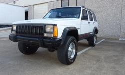 This 1993 Jeep Cherokee looks great and drives well. If you want a rugged Jeep at an affordable price, don't let this one get away! OVER 100 PHOTOS AVAILABLE AT: http://s1216.photobucket.com/albums/dd370/lsk92y/1993%20Jeep%20Cherokee/ Metrocrest Sales has