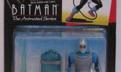 Moving to Peru. Everything must go. This is the 1993 Mr. Freeze from Batman the Animated Series. Mint in package, in very good condition.