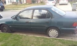 for sale 1993 toyota corolla,one owner,automatic transmission,currently inspected,run very good.