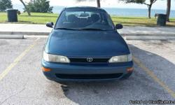 TOYOTA COROLLA 1993 FOUR DOOR SEDAN AUTOMATIC TRANSMISSION AND OVERDRIVE . GOOD MOTOR .GOOD TRANSMISSION,VERY VERY COOL A/C. VERY GOOD TIRES. CLEAN CAR VERY ECONOMIC GAS SAVER PRICE 2800 O.B.O