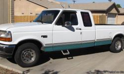 Offered for your perusal, approval and purchase is a 1994 Ford F150 Super Cab, Long Bed truck with 187,000 miles (11,687 miles a year). Included: V8-5.0 engine,2WD,Coooold AC, AT, AM-FM Stereo,cassette,CD(multi disc) player,bed liner, roll-up bed