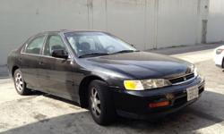 Automatic, engine has 118,000 miles A/C, new tires, sun roof, power windows, power locks clean inside and out. Runs good