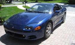 1994 Mitsubishi 3000GT / SL ONE OWNER, GARAGE KEPT, CLEAN CARFAX, CLEAN TITLE, ADULT DRIVEN, ALL ORIGINAL  Leather Seating, Removable Sunroof, Full Power, Steering wheel controls Very hard to find in this great condition. 139800 Very Well Cared for