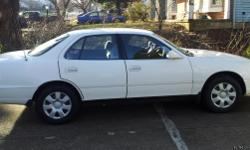 This ad is for a 1994 v6 Camry in excellent condition. This car has been very well cared for by my father---its original and only owner. This comes with all the maintenance and repair records.The paint and body are in almost new condition. Similarly, the