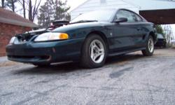 $8000.00 is a steel for This is a 1995 ford mustang, with a 1972 ford 429, the engine has been rebult and has 10 to 1 power forged pistons, balanced , blue printed, cylinder heads have been sonic ported and have bigger than cobra jet valves has a