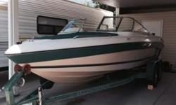 Volvo Penta fuel injected 5.0 liter engine. Runs but does need somework. Partially reupholstered interior. New seals, new pulleys. Stored under carport. Snap travel cover as well as storage cover. Canvas snap cabin. One time owner.