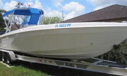 1996, 30' WELLCRAFT SCARAB 302 SPORT Twin Gas Mercury 250HP EFI Outboards 2014 RELIABLE Tri-Axle Trailer Aluminum Included at No Additional Charge! Extremely Clean Turn-Key Boat Priced to Sell Fast at Only $39,995 Runs great; Only 375hours on