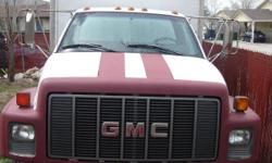 1996 GMC BOX TRUCK TOP KICK FOR SALE IT'S IN PERFECT CONDITIONS,IT HAS LOW MILES 51810,WORKS EXCELLENT,TIRES 100 % GOOD,MANUAL 5 SPEED,GASOLINE,IT HAS 2 GAS TANKS, V 8. IT'S READY TO WORK,IF YOU INTERESTED CALL ME AND MAKE ME AN OFFER THANKS.