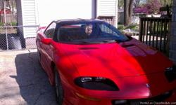 This is a red not perfect body , but still looks real good for the age, the car has 94,000 orginial miles on it, the motor and tranmission have 30,ooo miles on them, NO LEAKS OR SLIPS. Power brakes, windows. mirrors. locks. tilt stirring. all recipts r