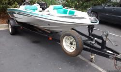 1996 Tidewater Fiberglass V-HullBass Boat, with trailer, 1990 Johnson 60HP Outboard Motor, includes: 12V Trolling Motor, Depth/Fish Finder. Very Good Condition ! Close to Lake Murray, SC ***** Cell # 607-333-4610 - Anytime .