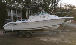 W/1997 250 HP fuel injectedYamaha 2 stroke saltwater series , rebuilt galvinized trailer