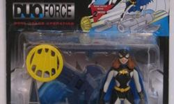 Moving to Peru. Everything must go. This is the 1997 Batgirl from the Adventures of Batman and Robin DUO Force. Mint in package, in great condition.