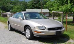 1997 Buick Riviera 3.8, V-6, Supercharged, leather seats, body excellent, Motor makes a noise, 109,000 miles.