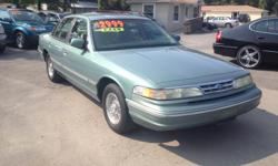 ---->> 1997 FORD CROWN VICTORIA --- CASH SPECIAL ---->> $2,499 ????????????????????????????????????????? SAVE MORE$$$ -- ARMY-3RD INFANTRY DIVISION VET OFFERING $300 DISCOUNT TO ALL ACTIVE & RETIRED MILITARY--(Must present ID)---->>