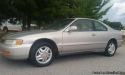 1997 Honda Accord for sale. 2.2 VTEC engine, sunroof, 5 speed, coupe, AC, all factory, 178k miles, water pump and timing belt recently changed, factory alloy wheels. Hard' to find a Honda Accord like this, all factory with no modifications. absolutely no
