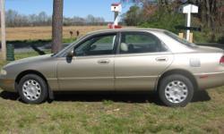 1997 Mazda 626, runs great, tires are 1 y.o. Transmission slips
