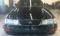CLICK FOR FULL INVENTORY: http://5starautos.net/  916-368-7886  1500 DOWN ! NO CREDIT OK!!! WE DO NO CREDIT CHECK & NO INTEREST FINANCING!!!  1997 TOYOTA AVALON 4DR GREEN!* GREAT MPG!* FAMILY SIZE*  DRIVES NICE! PASSED SMOG! AND ALL