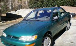 Low Mileage: 113,090 The car was purchase new for my mother who is ready to stop driving. Car was used for neighborhood errands, low-mileage, great on gas (37 mpg) one owner, and non-smoker. Air Condition, auto, power windows, 4 cylinder, radio, cassette