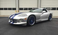 Feel free to email: laurenelbbaresi@clubbmw.com . Mechanically perfect, beautiful limited production 1998 Viper GTS with a clean clear title and no accident history. The car came factory with 450hp and 490 lbs. of torque. This car has been tastefully