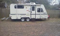 Price: $2000 -- Great condition, everything works --1999 21' Forest River Rockwood Roo Travel Trailer-- Contact me through contact seller button for more photos and vehicle location.