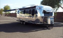 This Airstream has had a full interior remodel and has been built with a studio floor plan.