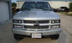1999 CHEVROLET TAHOE K1500 4WD. The suv was stock until within the last year. All the parts that I'm about to list were bought brand new and installed within the past year. Jasper 5.7 engine, ceramic coated headers, complete exhaust, cold air intake,