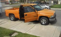 1999 extra cab dodge ram truck short bed current tags 180 k but well maintain rear reat 6 seat belts extra cab ,v8 ,ac, at runs great