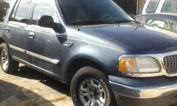 1999 ford expedition xlt 1999 Ford Expedition, leather interior, and has 3rd row seat. Eddie Bauerer edition. Good looking vehicle. Runs drives excellent. Dashboard dimmed out, can't read mileage. 404..781..7881