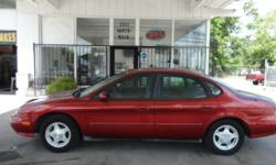 Mileage: 158,000 miles Exterior: MAROON Interior: Gray Engine: V6 3.0L V6 Transmission: Automatic 4-Speed Fuel Type: Gasoline Trim/Package: SE 4dr Sedan MPG City/Hwy: 17 city / 26 hwy   Comments This Taurus is in fair condition, it is solidly
