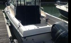 new Yamaha Engine 300 h p. Only 70 hours on engine. Three year warranty remaining .Hard top. Live wells. Bait wells.sleeps two and many more extras