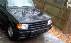 Great truck, runs good. Needs a little work. Color green. Interior in good condition, manual still with truck Has 136,000 miles, needs a couple $100 in work due to head gasket & needs a tune up. Truck is great otherwise. Make an offer. Additional