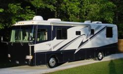 Beautiful Monaco Diplomat 38 foot Diesel Pusher, Super Slide, 67,000 miles. This exceptional Motorcoach comes with a Cummins 325 HP Turbo Diesel Engine, Factory Installed Banks System which increases HP & mileage, Allison 6-speed World Transmission,