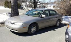 4 door Sedan, beige; mileage 99,500;V6 Automatic Front Wheel Drive; Power windows/locks/mirrors, Remote Starter, Cruise, A/C, AM/FM/CD; Inspected and recent oil change; Low mileage on tires; New Muffler system; fairly new front brakes.