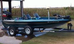 Ranger Bass Boat. Ranger R81 18' Merc 150HP 14,000.00 OBO Comes with Blue cover ?and extra seats ?as well. 1 Axl RRT Trailer goes with it. It is a gorgeous Blue with metal Flake.