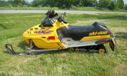 1999 Skidoo MXZ 600 Good condition. Starts very easy. Love the sled just do not get to ride it often enough and need the storage space.
