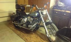 1340cc- New tires, Throw over saddle bags, T- bag, & Windshield included. Only 16,745 miles! Bike has been gone through every spring...located in Seymour WI. For more information call (920) 371-0102