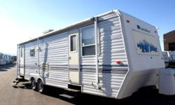 Price: $2000 -- Great condition, everything works --1999 SunnyBrook Super Slide Travel Trailer Camper RV-- Contact me through contact seller button for more photos and vehicle location.