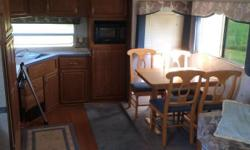 30' Terry fifth wheel camper with 2 slides. Great condition, very roomy and comfortable. Has fifth wheel to gooseneck attachment so you can pull with either one. Can deliver within 100 miles if sold.