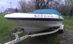 Here we have a 2000 Bayliner 2050 LX Capri Bowrider. This boat is an awesome deal as it is priced at nearly $2000 less than bluebook and its even in good condition which just sweetens the deal. This boat was definitely well maintained and it