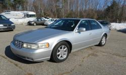2000 Cadillac Seville STS Sedan  Silver w/ Black Leather, Automatic, 4.6L V8 Engine Wood Trim, Alloy Wheels, A/C Navigation Intermittent Wipers, Bose Sound System  *** Trades Welcome, Financing Available *** All Major Credit / Debit Cards