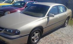 Low miles 56k on this 2000 Chevy Impala. Very clean ride and dependable.Price is Neg..Come by or call