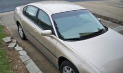 2000 Chevy Impala for sale. Good condition. Runs great! Low price doesn't always mean something is wrong!
