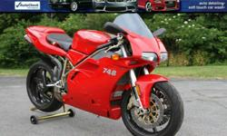 2000 Ducati 748 biposto desmoquattro motorcycle! Pristine Condition! - $6995 (Glenmont, NY) 2000 Ducati 748 Biposto condition: like new fuel: gas transmission: manual FOR UP-TO-DATE PRICING AND MORE PHOTOS AND DETAILS, CLICK THIS LINK: