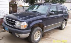 2000 Ford Explorer, 126,000 miles, Runs good, no rust, doesn't use oil, great shape. Don't need four vehicles sitting around.